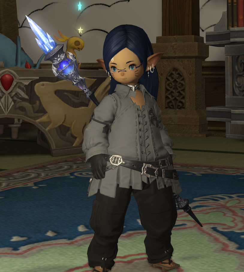 Hadn't seen Samsonian Locks on male Lalafells yet, so here are front